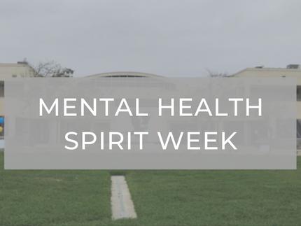 Mental Health Spirit Week