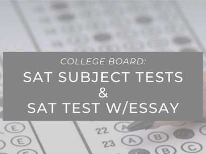 SAT Updates from College Board