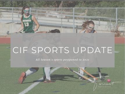 CIF Sports Update
