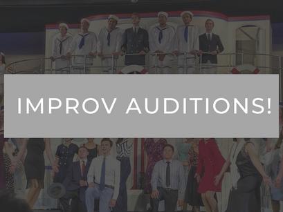 SRHS Improv Auditions