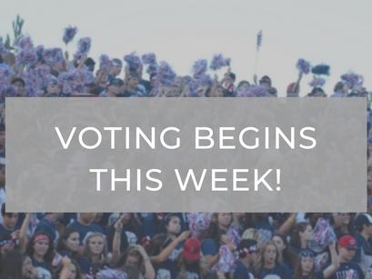 It's Voting Week!!