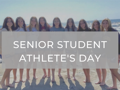 Senior Student-Athlete Recognition Day