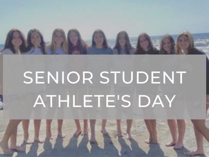Senior Student-Athlete Recognition Day