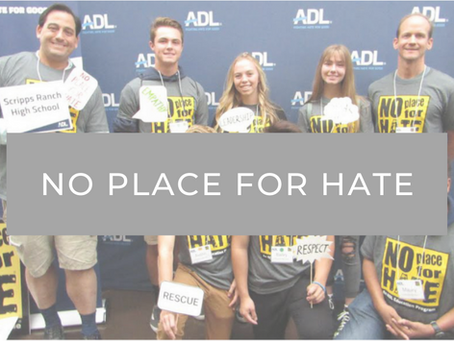 No Place For Hate Pledge