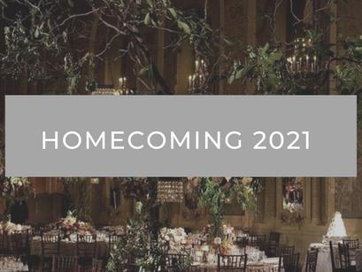 Homecoming Celebration 2021: Update
