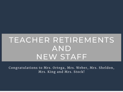 Congrats to our outstanding teachers!