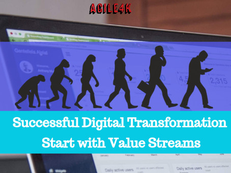 Successful Digital Transformation start with Value Streams