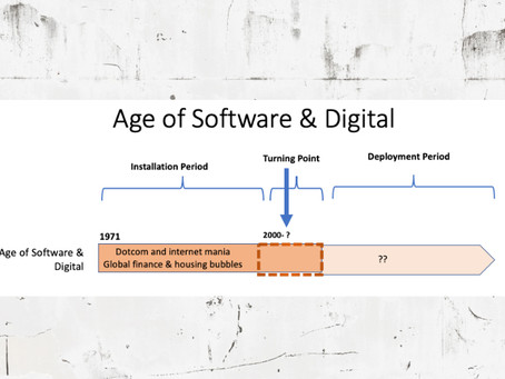 Can the history of the past technological revolutions help us understand Digital disruption?