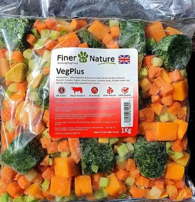 Finer By Nature - Raw Veg Plus - 1Kg