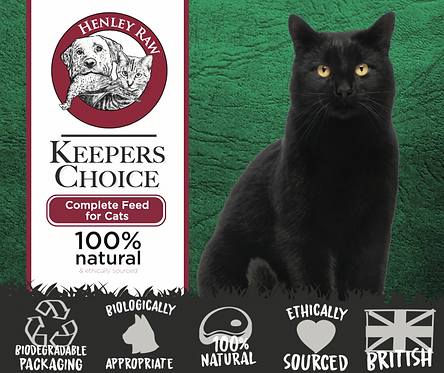 Keepers Choice - Cat Food - Henley Raw - 500g