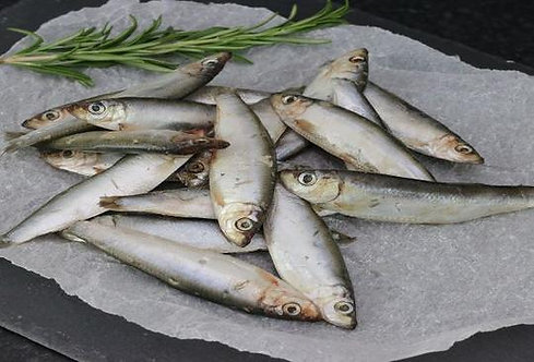 Whole Oily Fish Sprats 1KG - Frozen