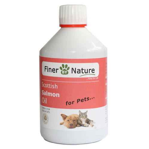 Salmon Oil - 500ml - Finer By Nature