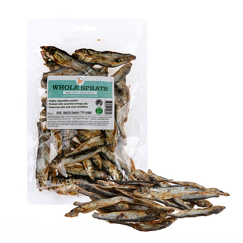 Dried Whole Baltic Sprats - 100g