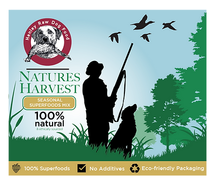 Natures Harvest 500g - Henley Raw