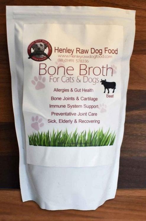 Beef Bone Broth - 500ml - Henley Raw