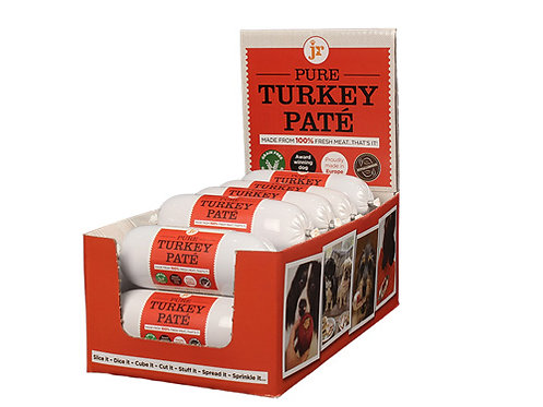 Pure Turkey Pate - 400g - JR Pet Products