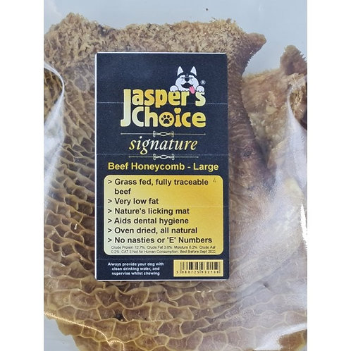 Jaspers Choice - Beef Honeycomb Washed Tripe