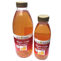 Apple Cider Vinegar with Turmeric & Black Pepper - 500ml Finer By Nature