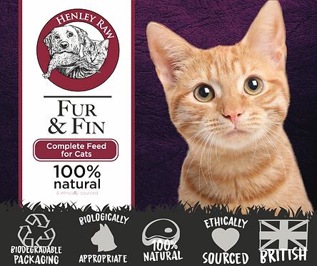 Fur & Fin - Cat Food - Henley Raw - 500g