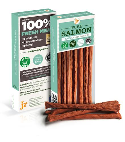Pure Salmon Sticks - 50g - JR Pet Products