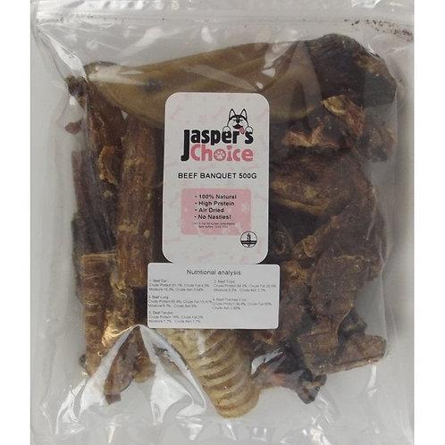 Jaspers Choice - Beef Banquet - 500g