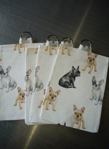 White Treat Bag - French Bulldog
