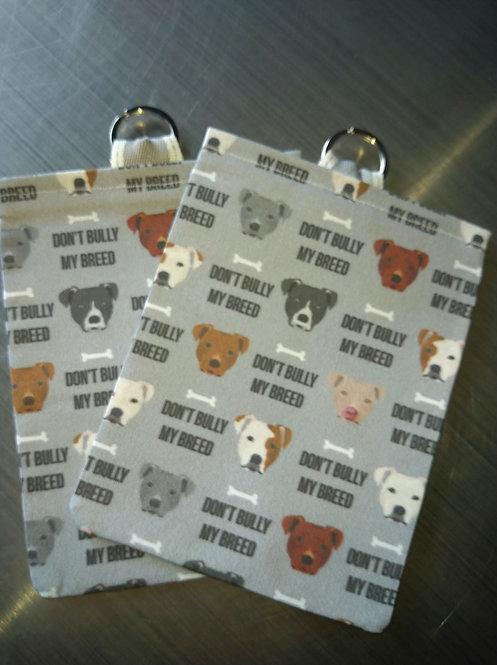 Grey - Don't Bully My Breed Treat Bag