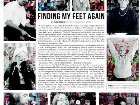 Finding My Feet Again
