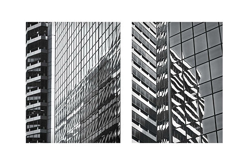 Reflections VI and VII, a Diptych