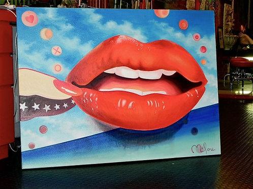 American lipstick chick