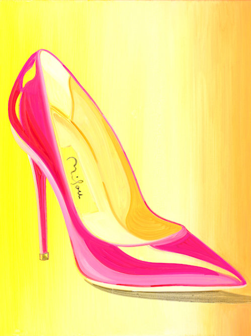 Pink Pump Girl