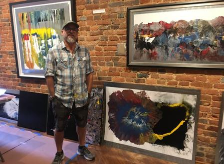 Artist in Residence Explores Genesis in Old City Gallery