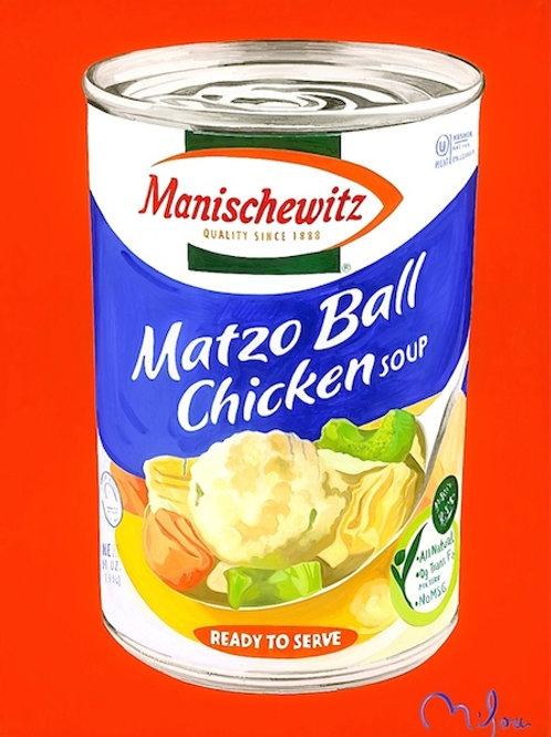 Warhol Never Did Manishewitz