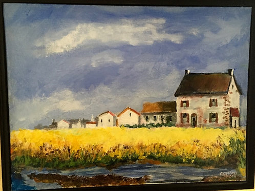 Farm from the Pond