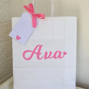 Personalised Party or gift bags