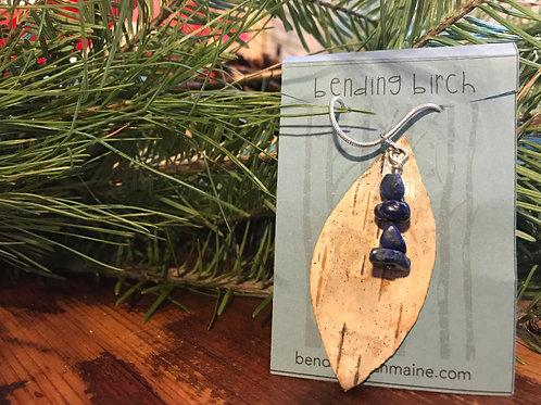 Lapis Lazuli White Birch Necklace