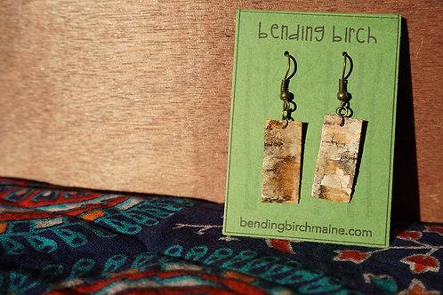 Dark Birch Earrings