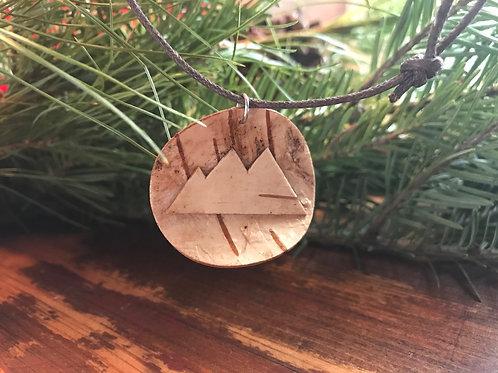 Mountain White Birch Necklace