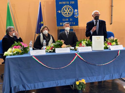 """Il Rotary di Molfetta dona 17 tablet all'IC """"San Giovanni Bosco"""""""
