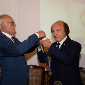 """""""Accogliere per condividere in amicizia"""", il motto di Felice de Sanctis nuovo presidente del Rotary"""