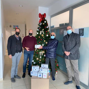 Donate 2.000 mascherine al Social Market Solidale