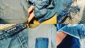 UNIQLO × Blueblue リメイク