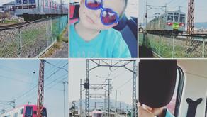 電車見学ツアーへ!