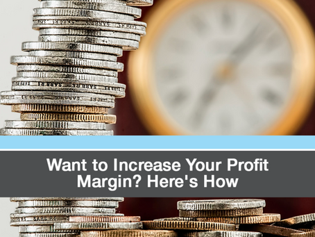 Want to Increase Your Restaurant's Profit Margin? Try These Tips...