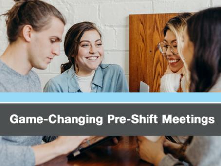 Pre-shift with a purpose