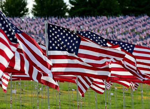 Sponsor a Flag in the Field of Valor