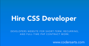 Hire the best CSS Developers