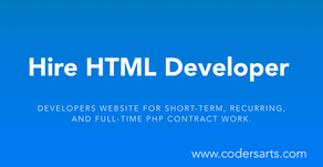 Hire the best HTML5 Developers