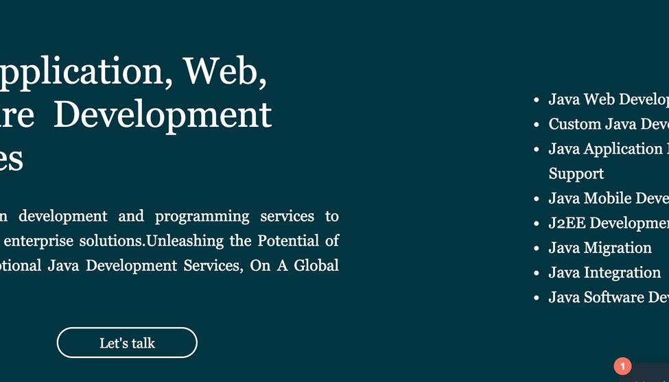 Get Java Development Services