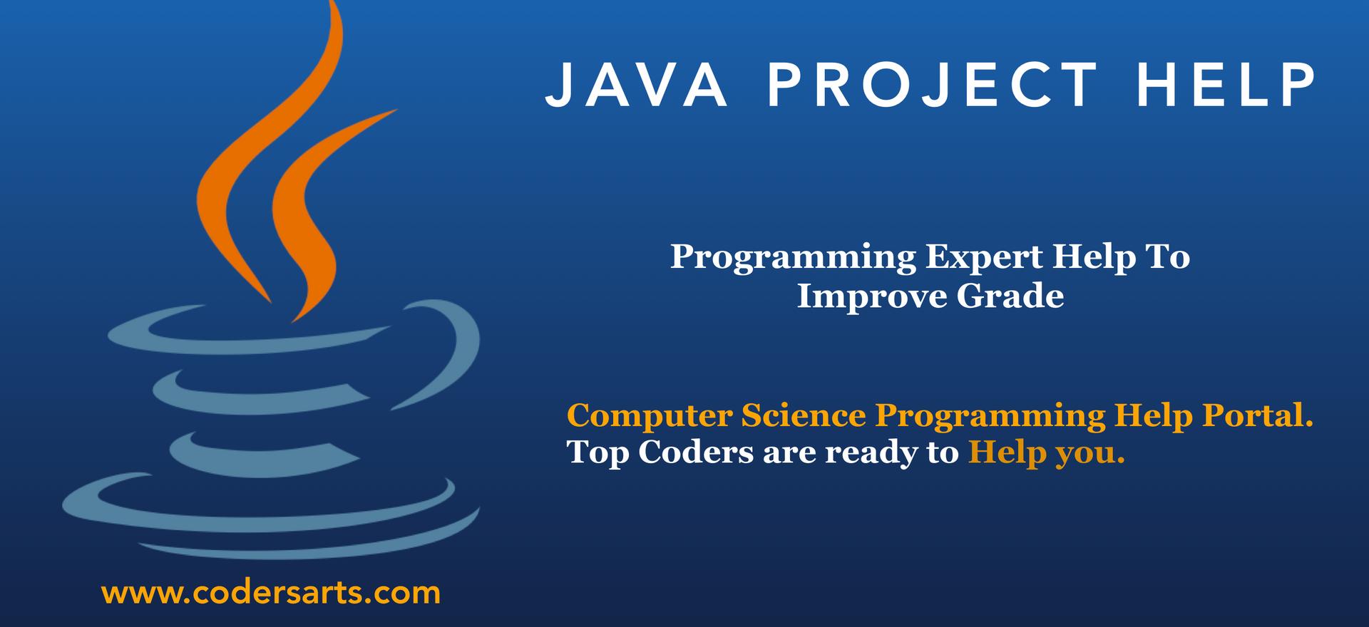 Java Project Help